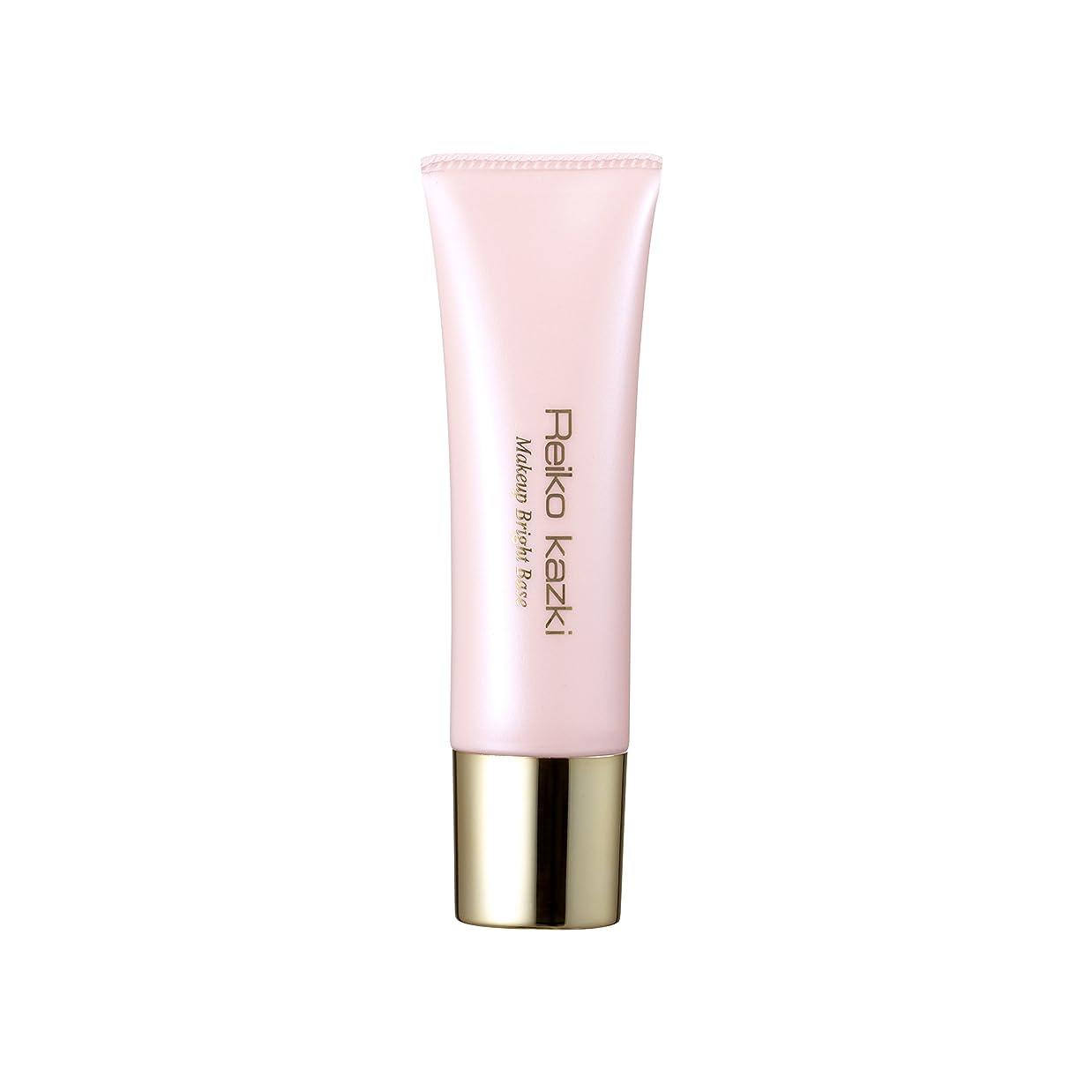 レジ効果的隔離かづきれいこ メイクアップブライトベース (化粧下地) 化粧下地に、ツヤ足しに、ハイライトにも使えるピンクパールの化粧下地。