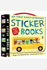 My First Early-Learning Sticker Books Paperback
