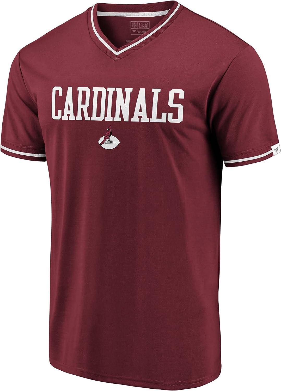 NFL PRO price LINE Men's Challenge the lowest price Cardinal Cardinals Arizona Classics V-Ne True