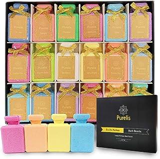 Perfume Gift Sets for Teens & Women Bath Bombs Set - Designer Fragrance Gift Set -18 Eu De Toilette Spa Bath Bombs for Women. Best Bath Bombs for Teenage Girls Party Favors.#1 Gifts for Teenage Girls!
