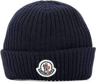 MONCLER Luxury Fashion Mens 002990002309752 Blue Hat | Fall Winter 19