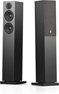 Audio Pro A36 HiFi Stereo Bluetooth WiFi Powered Wireless Multi-Room Home Theater Floor Standing Tower Speakers for Ultima...