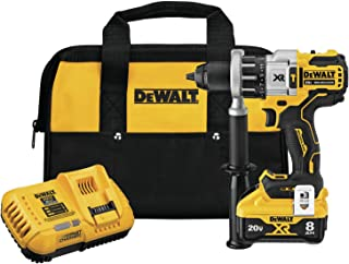 DEWALT DCD998W1 20V MAX XR 1/2 in. Brushless Hammer Drill/Driver With POWER DETECT Tool Technology Kit
