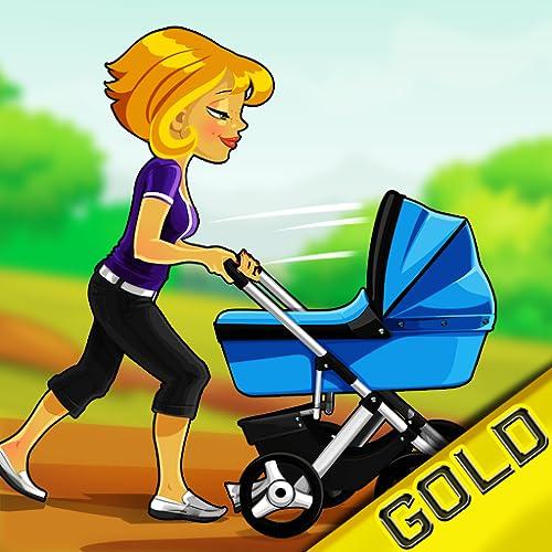 bebê febre em execução: o carrinho de corrida criança - Edição de ouro