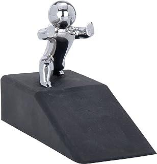WENKO Bloc-porte Hercules, Caoutchouc, 10 x 6.5 x 4 cm, Noir