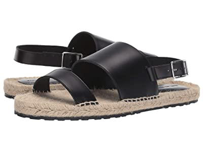 WANT Les Essentiels Moreno Espadrille Sandal (Black/Jute) Men