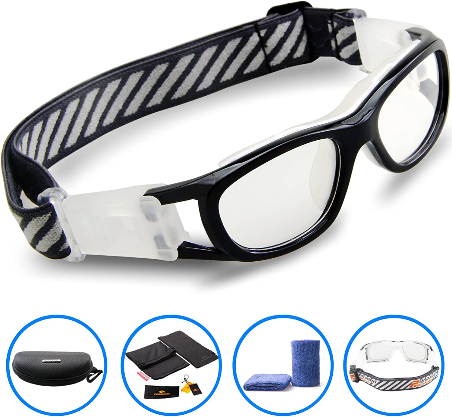 PONOSOON Sports Goggles for Kids for Basketball Football volleyball1812