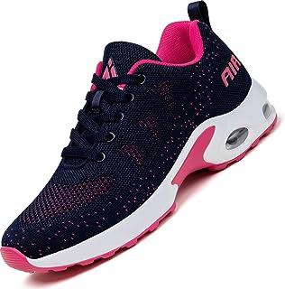 Mishansha Mujer Air Zapatos de Deportes Ligeros Respirable Antideslizante Zapatillas de Correr, Gr.35-42 EU