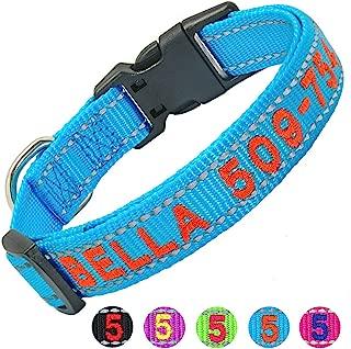 Best monogram dog collar Reviews