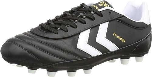 Hummel OLDS School DK FG KANGEROO 61-306-2403 - Hauszapatos de fútbol de Cuero Unisex