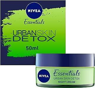 NIVEA, Face Cream, Urban Skin Detox, Night Gel, 50ml