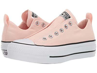 Converse Chuck Taylor All Star Lift Slip Ox (Washed Coral/White/Black) Women