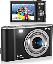 "$63 » Digital Camera, Lecran FHD 2.7K 44.0 Mega Pixels Vlogging Camera with 16X Digital Zoom, 2.88"" IPS Screen, Compact Portable..."