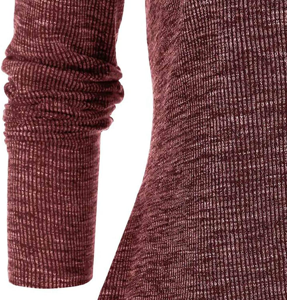 NP Women's Dress Casual Two-Piece Suit Sweaters Cutout Knitted Sweater Long Sleeve