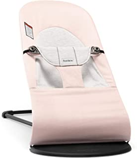 pink and grey bouncer