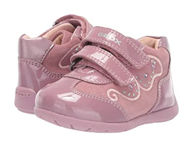 Geox Kids Kaytan 60 (Infant/Toddler) (Dark Pink) Girls Shoes