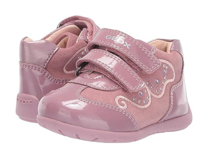 Geox Kids  Kaytan 60 (Infant/Toddler) (Dark Pink) Girls Shoes