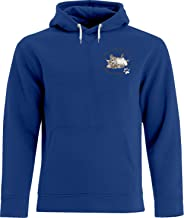 BSW Men's Soft Kitty Sheldon Cooper Big Bang Theory Song Crest Hoodie MED Royal