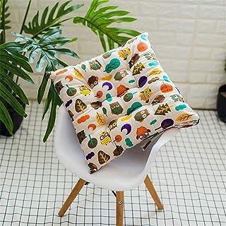 Cuadrado de restauración cojines de silla con los lazos Sillas de algodón y lino Presidente de ratón de cocina cojines del asiento transpirable for las sillas de jardín al aire libre cuatro estaciones