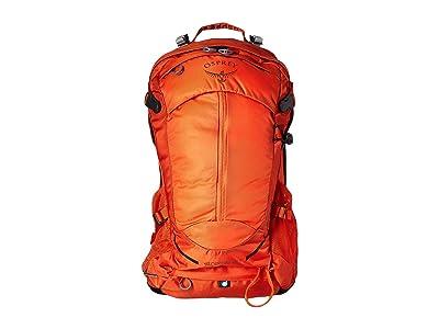 Osprey Stratos 24 (Sungrazer Orange) Backpack Bags