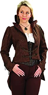 Museum Replicas Ladies Steampunk German Airship Tailcoat Jacket With Chains