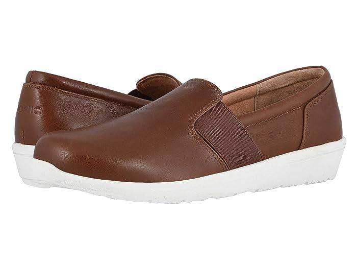VIONIC  Gianna Leather (Mocha) Womens Shoes