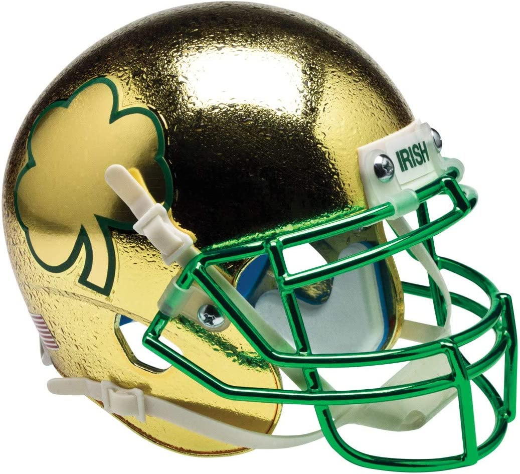 Schutt NCAA Notre Dame Fighting XP Authentic Super Special SALE held Mini Football Irish 2021 spring and summer new