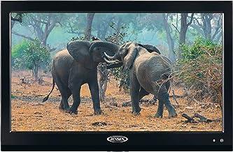 $189 » Jensen JTV19DC HD Ready 19 Inch 12V DC RV LED TV with Integrated HDTV (ATSC) Tuner, HD Ready (1080p, 720p, 480p), 1366 x 768 Full HD, Dual Function Wireless Remote Control, Black (Renewed)