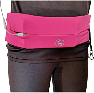 Goat In Boots Adjustable Running Belt with Key Clip Fits of Android/iPhones. Unisex. Perfect for Gym, Workouts, Exercise, Cycling, Walking, Jogging, Sport, Travel, Outdoor Activity