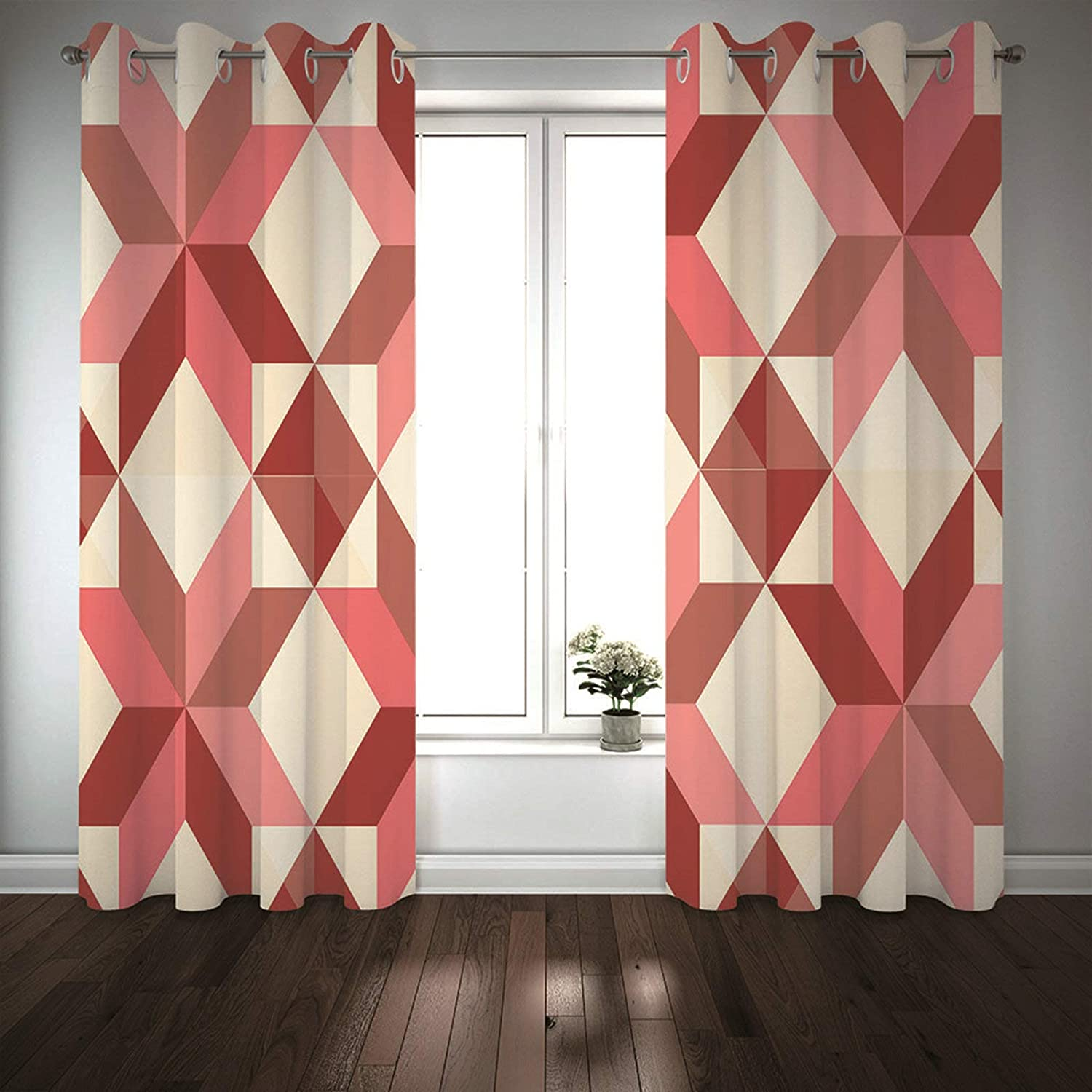 MoAndy Little Ranking TOP15 Girls Bedroom Curtains 2 Curt 45 x 52 Inch quality assurance Panels