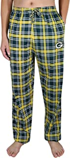 GB PACKERS MENS Plaid Lounge/Pajama Pants Multicolour