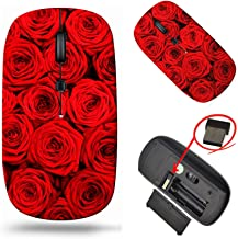 Laptop Wireless Mouse, MSD Computer USB Wireless Mouse, 2.4G Travel Mice, Adjustable DPI for Notebook PC Laptop Computer M...