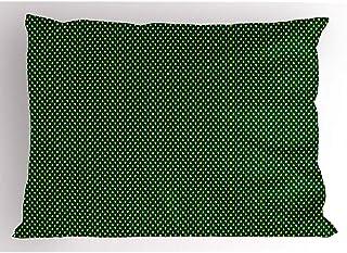 4 Piezas 18X18 Pulgadas Funda De Almohada De Bosque,Adornos Navideños Mini Pinos Repetición Forest Woodland Print,Decoración Del Hogar Funda De Almohada Impresa King Size Estándar