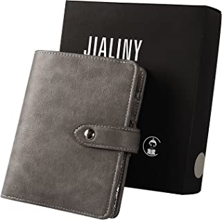 $24 » JIALINY a7 6 Ring Binder Weekly Planner Appointment Calendar Cash envelopes Wallet,Finances Organizer Calendar Budget Plan...
