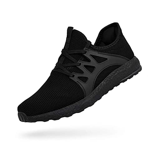 358caba08bdd QANSI Men s Sneakers Mesh Ultra Lightweight Breathable Athletic Running Walking  Gym Shoes