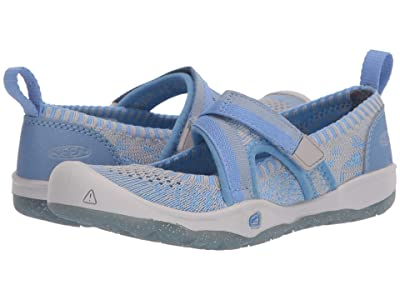 Keen Kids Moxie Sport MJ (Toddler/Little Kid) (Della Blue/Blue Fog) Girl