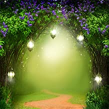 enchanted forest photo backdrop