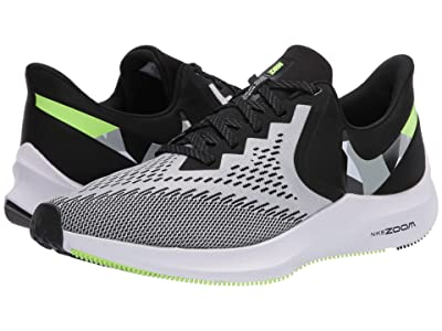 Nike Air Zoom Winflo 6 (Black/Particle Grey/Ghost Green/White) Men