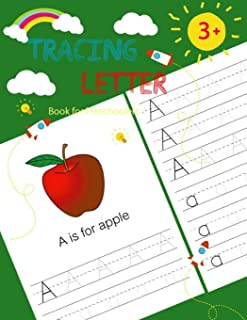 """Letter Tracing Book for Preschoolers: Handwriting Workbook and Practice, Alphabet Writing Practice For Kids, Ages 3-5 (Size 8.5"""" x 11"""")"""