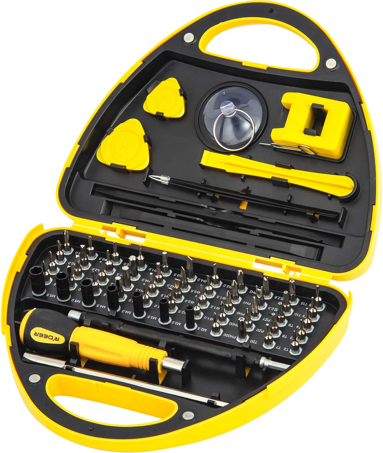 67 in 1 Precision Electronic Screwdriver Set R'deer Magnetic Mul