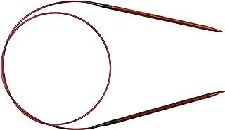 KnitPro 31087 Ginger Aiguille à Tricoter Circulaire, Bois, Naturel/Marron, 3,5 mm, 80 cm, Natur/Braun, 3,5mm, 80cm