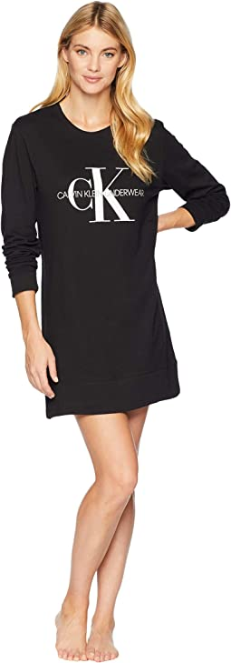 Monogram Lounge Long Nightshirt