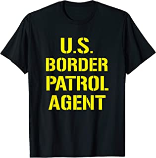 US Border Patrol Agent Halloween Costume ICE T-Shirt