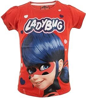 T-shirt Originale Miraculous Ladybug Ufficiale Blu Maglia Volto Occhi Lady Bug