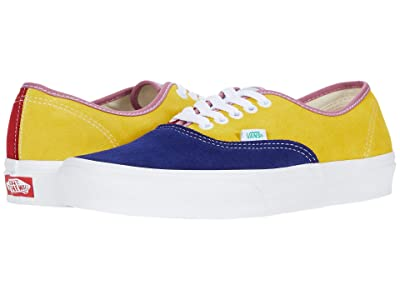 Vans Authentictm ((Sunshine) Multi/True White) Skate Shoes