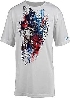 Bauer Ice Graffiti Plus Youth Short Sleeve T-Shirt, X-Large White