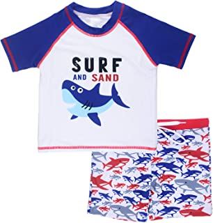 Vegaltair Little Boys Two Piece Swimwear Set Ages 2-6 Years