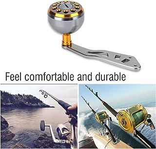 Vbestlife Reel Replacement Power Handle knob Handle Grips Part - Metal Fishing Spinning Reel Handle Grip for Abu Round Baitcast
