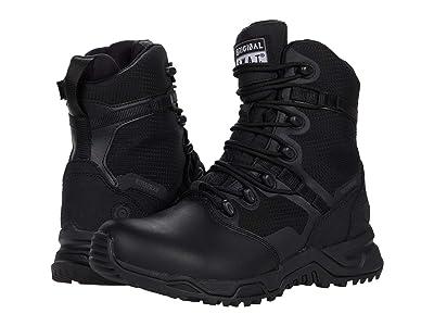 Original S.W.A.T. Alpha Fury 8 Side Zip Leather Toe Waterproof