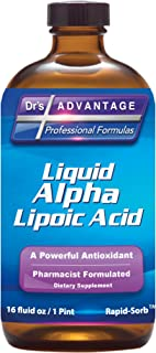 Liquid Alpha Lipoic Acid 16 oz - 2 Pack - Dr's Advantage